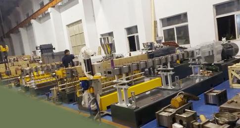 1500-2500高溶脂PP熔喷料,驻极母料,涂膜料专用双螺杆挤出生产线全套交付